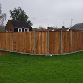 A new fence we have worked on