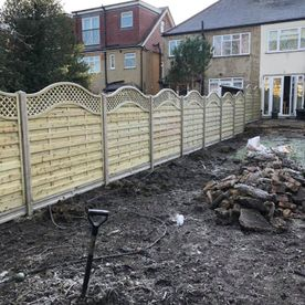 A fence that we have erected