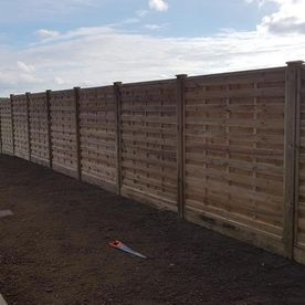 Fencing work we have been doing