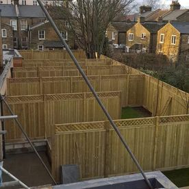 A large fencing project