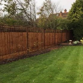 A garden fence we have worked on