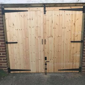 A large double gate we have installed