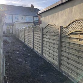 A fence that we have worked on
